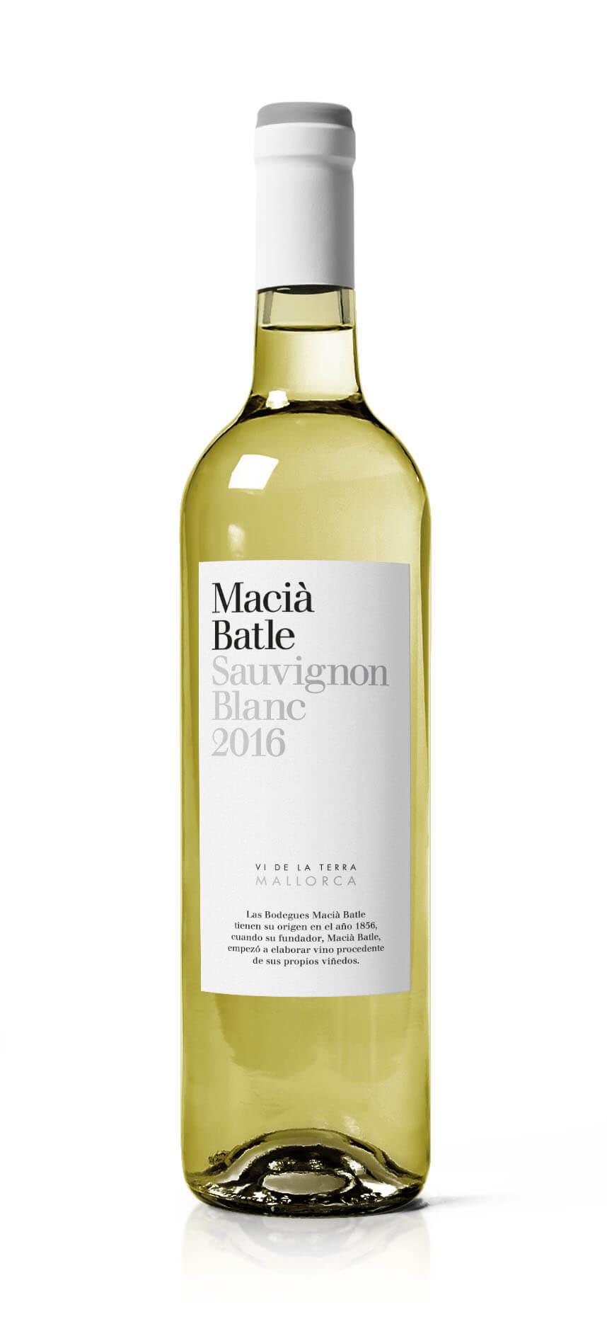 Sauvignon Blanc vino mallorquín